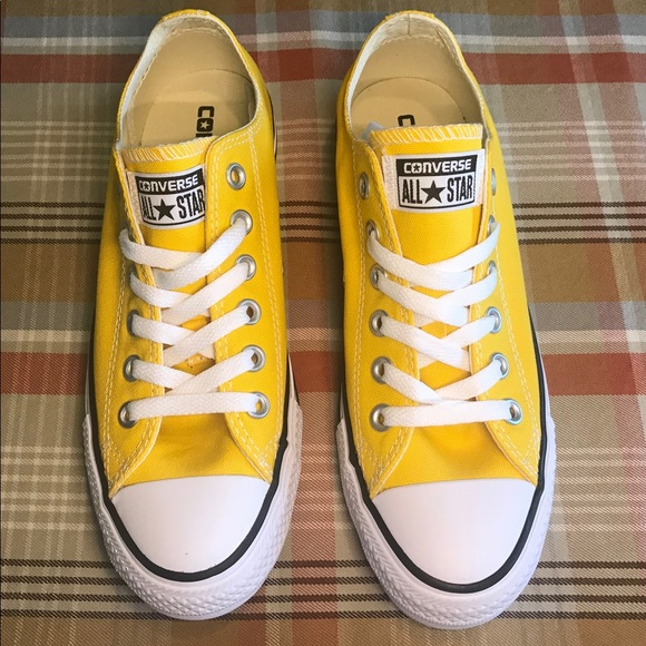 06561577489a78 Converse Shoes - Yellow Converse Chuck Taylor All Star Lo Sneaker